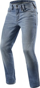 Jeans moto Rev'it Piston Blu Chiaro Used L34