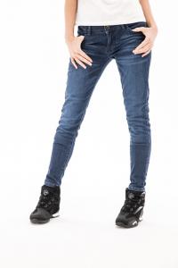 Jeans moto donna Ixon JUDY Medium Blu