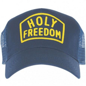 Cappello Holy Freedom Worker blu
