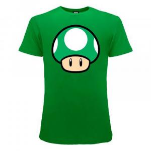 Super Mario maglietta manica corta fungo dalla taglia XS alla XXL
