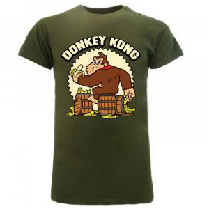 Super Mario maglietta manica corta Donkey Kong dalla taglia XS alla XXL