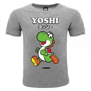 Super Mario maglietta manica corta Yoshi dalla taglia 3 ai 15 anni