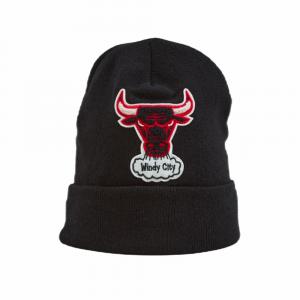 Mitchell and ness Cappello Di lana Chenille Logo Team Bulls