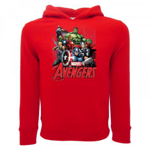 Felpa Avengers Gruppo taglia da 1 a 12 anni