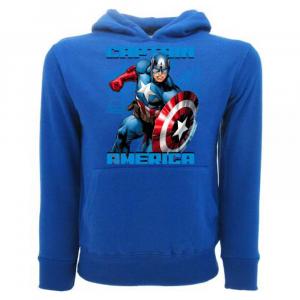 Felpa Avengers Capitan America taglia da 1 a 12 anni