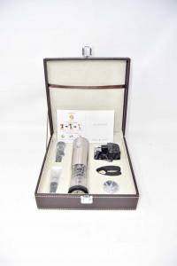 Set Valigetta Con apribottiglie elettrico ricaricabile + Accessori Nuovo