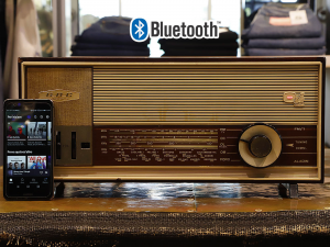 GBC Aladin radio vintage originale 1964 trasformata bluetooth