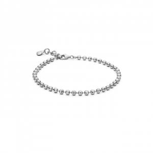 Bracciale Rosato Storie in argento 925 con sfere RZB012
