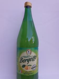 Bibita BERGOTTO al Bergamotto di Reggio Calabria 1l fatto con acqua, zucchero e succo di bergamotto 20%. Ditta La Spina Santa Bova Marina (RC)