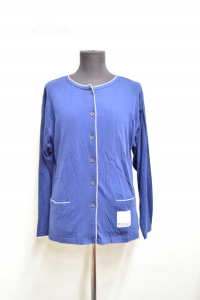 T-shirt Of Pjs Woman Moschino Jeans Size L Blue