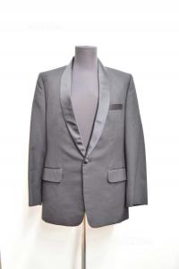 Jacket Man Venice Co.black Elegant Size 48