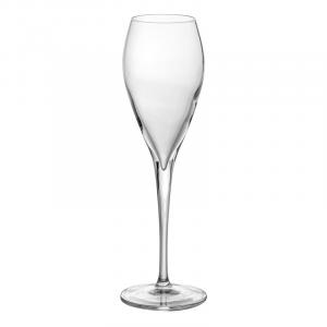 Linea Atelier Set 6 Flûte Calici Per Spumante Degustazione Cristallino In Vetro Trasparente Casa Cucina Collezioni Bicchieri 20 Cl