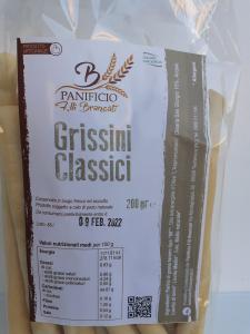 Grissini Classici 200g. Panificio F.lli Brancati Taurianova (RC)