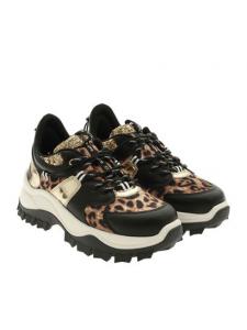 SNEAKERS RUNNING donna | Sampa Leopard | Marca GAELLE