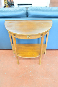 Table Console Per Ingrasso Wood With Drawer
