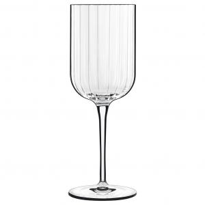 Linea Bach Set 4 Calici Da Vino In Vetro Trasparente Elegante 28 Cl Confezione Collezione Bicchieri Casa Cucina