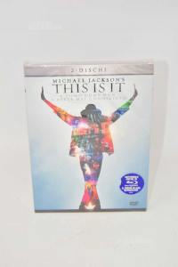 Dvd This Is It Michael Jacksons Edition 2 Discs New Sealed