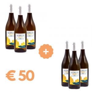 Box vini bianchi Skopelos Grillo e Zibibbo