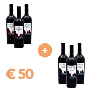 Box vini rossi Skopelos - Nero d'Avola e Appassimento