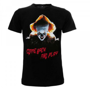 T-Shirt IT Come Back and Play XS S M L XL XXL