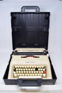 Typewriter Olivetti Letter 35 Beige Ocn Box Black