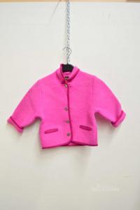 Giacca Tirolese Da Bambina Giesswein 2 anni Rosa Originale