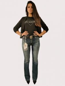 T-shirt manica corta | colore nero | Marca LOVE MOSCHINO