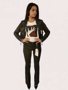 Pantaloni Jeans donna colore nero | Marca LOVE MOSCHINO