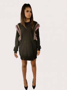 Vestito Abito corto | colore nero | Marca Jijil