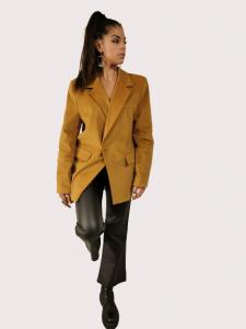 Giacca donna color senape | Marca Jijil