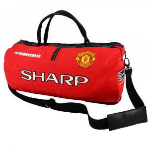 Manchester United Sharp 1998 Limited Edition duffel bag