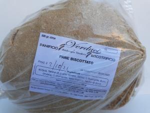 Fresa Biscottata 500g. Panificio e Biscottificio VERDUCI di Ambrogio Teodoro Motta San Giovanni (RC).