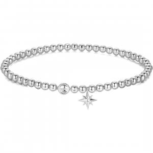 Bracciale donna Rosato Storie in argento 925 con sfere RZB029