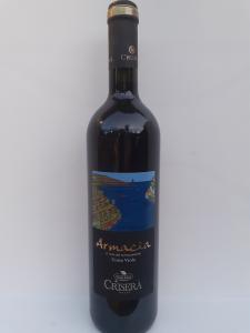 Armacia il Vino dei terrazzamenti Costa Viola Vino rosso 750ml. Azienda Vinicola Criserà Costa Viola (RC).