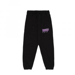 TRIPLOSETTEWEAR SweatpantsFire Logo Black