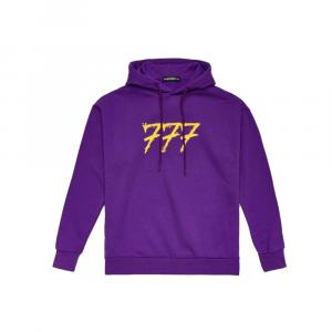 TRIPLOSETTEWEAR Hoodie Logo Purple