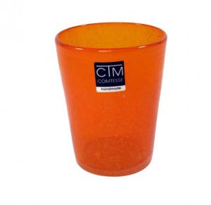 Bicchieri colorati con bollicine Tonga Arancione