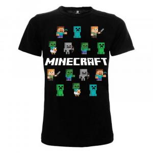 T-shirt Minecraft Personaggi dai 7 anni alla taglia XXL
