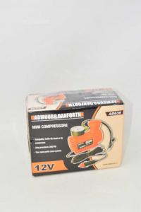 Compressore Mini Da Auto Con Spina 12V NUOVO