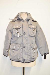 Vest Woman Gray Peuterey Size M Vision Pockets Original