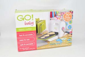 Fustellatrice Per Stoffa Go! Baby Fabric Cutter Manuale
