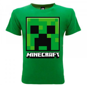 T-Shirt Minecraft Creeper da 5 a 15 anni