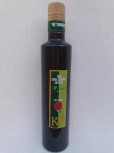 Olio Extravergine di Oliva OttoBratica Kouvala 0.50L. Azienda Agricola Elvira de Leo Bagnara Calabra (RC)