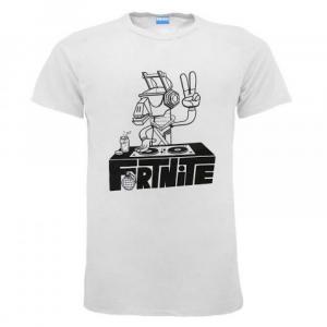 T-Shirt Fortnite Dj bianca dai 7 a 16 anni
