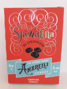 Amarelli Spezzatini di Liquirizia 60g. Amarelli Fabbrica di Liquirizia Rossano (CS)