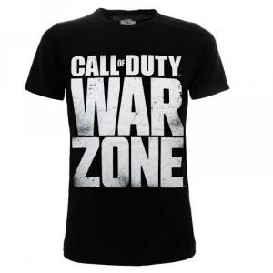 T-shirt Call of Duty WZ Scritta dalla taglia XS alla XXL