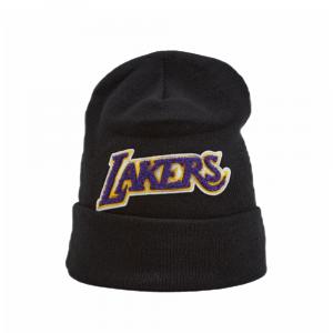 Mitchell and ness Cappello Di lana Chenille Logo Team Lakers
