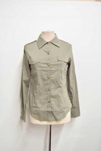 Shirt Woman Morgan Size 40 Green Military New