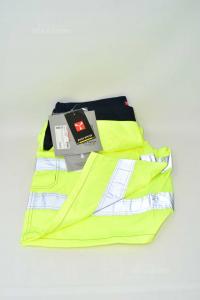 Bermuda Man Form Work Payper Sizexx L Yellow Fluo New