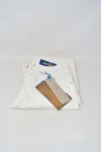 Pantalone Bambino Bianco Dondup Anni 14 NUOVO
